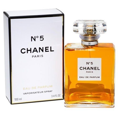 LuxuryFragrance discount duty free CHANEL_No 5 Eau De Parfum Spray for Women 3.4 FL OZ