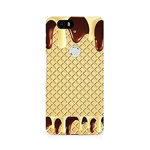Ebby Dripping Chocolate Premium Printed Case For Huawei Nexus 6P