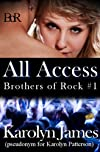 All Access (Brothers of Rock #1) (rockstar contemporary romance)