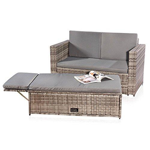 rattan zweisitzer preisvergleiche erfahrungsberichte. Black Bedroom Furniture Sets. Home Design Ideas