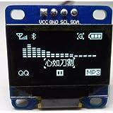 """ZJchao White 0.96"""" I2c Iic Spi Serial 128x64 Oled Lcd Led Display Module for Arduino"""