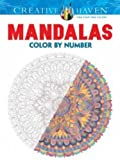 Creative Haven Mandalas Color by Number Coloring Book (Creative Haven Coloring Books)