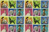 TOY STORY STICKERS - Toy Story Birthday Party Favor Sticker Set Consisting of 45 Stickers Featuring 6 Different Designs Measuring 2.5