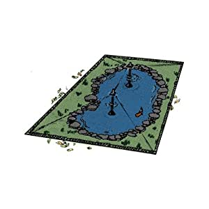 Nycon big top pond covers 17x24 pond decor for Decorative fish pond covers