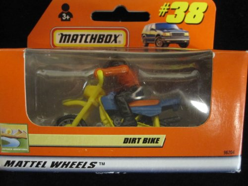 Dirt Bike Racer (orange box issue) Outback Adventures Matchbox #38 - 1