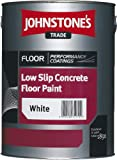5LTR - JOHNSTONE'S LOW SLIP CONCRETE FLOOR PAINT DARK GREY