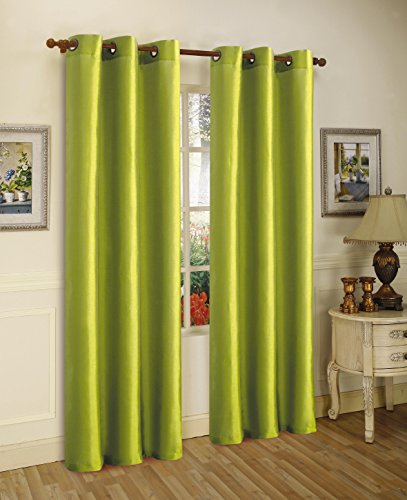 Gorgeous Home (#32) 1 PANEL SOLID LIME GREEN 84