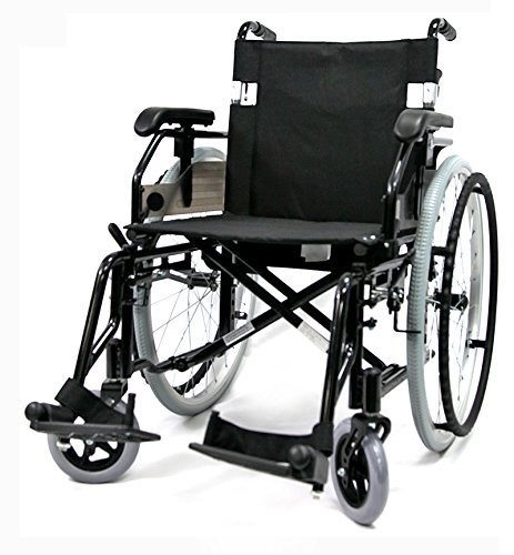 Karman Healthcare 16 Inch Seat Width Ultra Lightweight Wheelchair with Removable Footrest