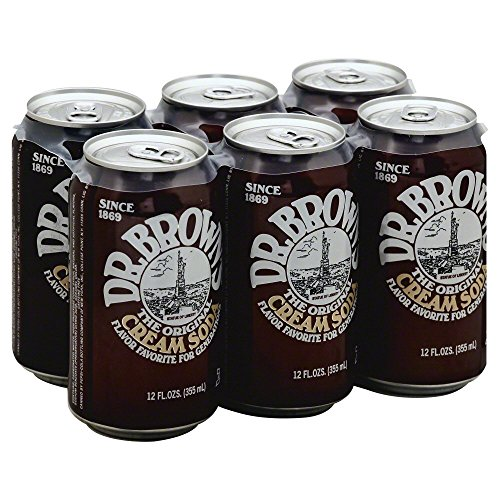 Dr. Brown Soda Cream Soda Diet 6 pack, 12-ounces (Pack of4) (Soda 6 Pack compare prices)