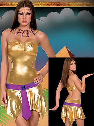 Walk Like an Egyptian - Women's Queen Sexy Halloween Costumes