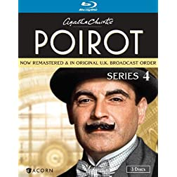 Agatha Christie's Poirot: Series 4 [Blu-ray]