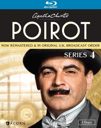 Cover art for  Agatha Christie's Poirot: Series 4 [Blu-ray]
