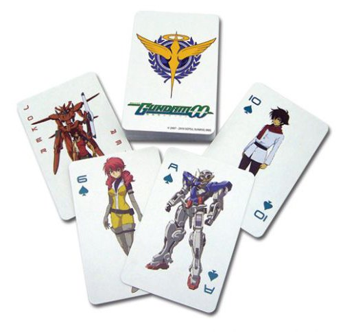 Gundam 00: Playing Cards