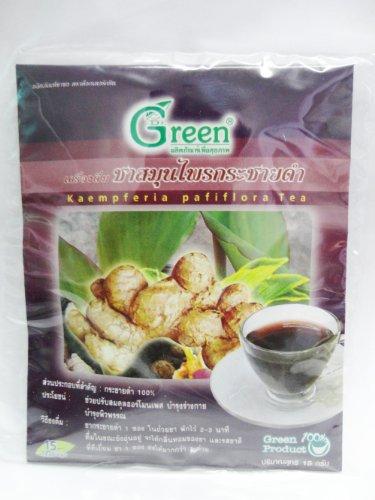 Dr. Green Brand Kaempferia Pafiflora Tea 15G (15 Tea Bags) X 2 Pack Thai