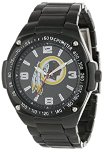 Game Time Unisex NFL-WAR-WAS Warrior Washington Redskins Analog 3-Hand Watch by Game Time