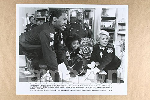 "Vintage Photo of BUBBA SMITH, MARION RAMSEY, LESLIE EASTERBROOK, MICHAEL WINSLOW, TAB THACKER ""Po (JU804)"