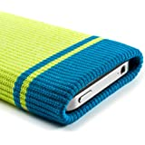 """Roxy iPhone 6 Sock style pouch cover case sock design multi colour pouch case cover for iphones 6 4.7"""" [4.7 inch] 2014 soft stylish pouch for iphones - Yellow - proporta"""