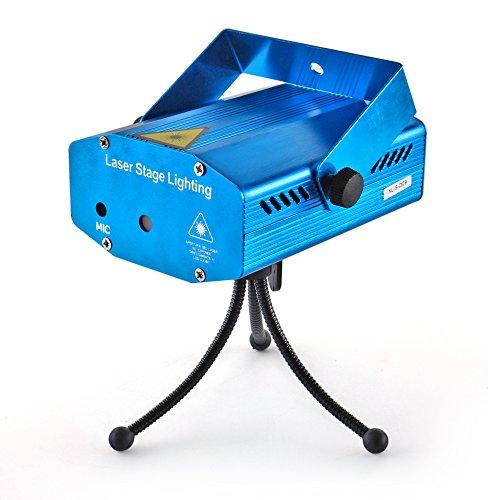 flexzion laser stage light mini projector system portable. Black Bedroom Furniture Sets. Home Design Ideas