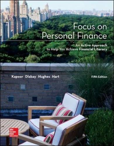 Focus on Personal Finance (Mcgraw-Hill/Irwin Series I Finance, Insurance, and Real Estate) (Mcgraw Hill Personal Finance compare prices)