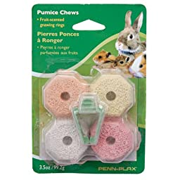 Penn Plax Pumice Chews for Pets, Multicolor
