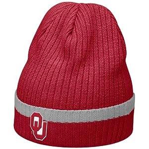Nike Oklahoma Sooners Crimson Sideline Cuffed Knit Beanie