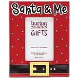 """Santa and Me Christmas 4x6"""" Photo Frame"""