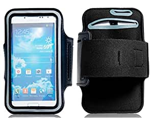 Outdoor Armband for Samsung Galaxy S4/i9500 Style A (Black)