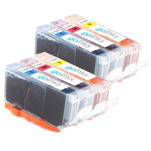 2 Kompatibel C/M/Y Farbe Tintenpatronen Set zu ersetzen CLI-551 (6 Tinten) - Cyan / Magenta / Gelb for Canon Pixma iP7250, MG5450, MG6350, MX925