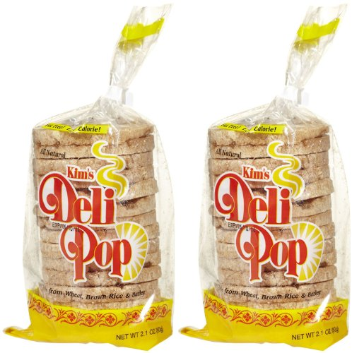 Kim's Deli Pop Original Rice Cakes, 2.9 oz, 2 ct (Pop Rice compare prices)