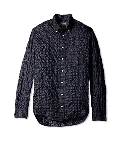 Gitman Vintage Men's Quilted Button Down Shirt