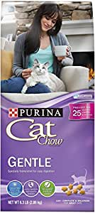 Buy purina cat chow dry cat food gentle 6 3 pound bag for Purina game fish chow