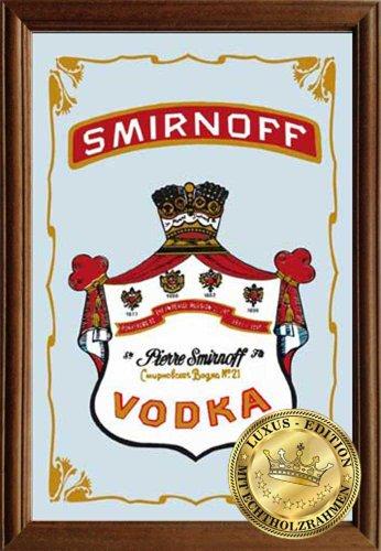 empire-merchandising-610973-vodka-smirnoff-miroir-echtholzrahmen-22-x-32-x-12-cm