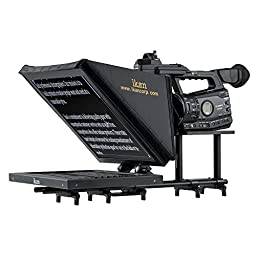 Ikan PT3500 15-Inch Rod Based Location/Studio Teleprompter (Black)