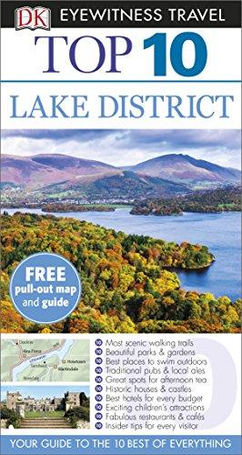 DK Eyewitness Top 10 Travel Guide. Lake District
