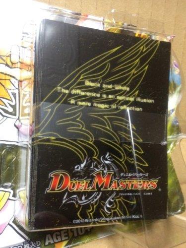【DMD-08 DX鬼エンジェル  分割販売】 限定 カードプロテクター 60枚 黄 【デュエル・マスターズ 】 カードスリーブ