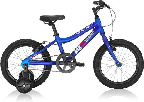Ridgeback MX16 Blue with Training Wheels 2013