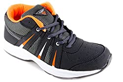 Lancer Mens Grey Running Sports Shoes Indus-3 (7)