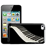 Fancy A Snuggle Waving Piano Keyboard Keys Design Hard Back Case Cover for Apple iPod Touch 4th Generation