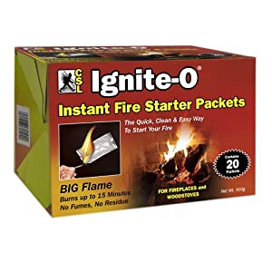 Amazon.com: Joseph Enterprises Fs850-24 Fire Starter Packet 20ct ...