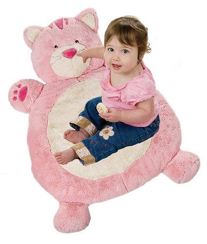 Bestever Baby Mat, Pink Cat
