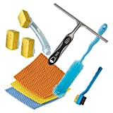 Zibo (HongKong) - Kitchen Cleaning All The Cleaning Tools You Need In The Kitchen - 9 Pcs Set