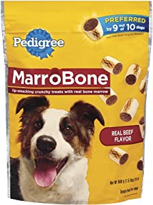Pedigree MarroBone Snack Food for Dogs, 24-Ounce Pouches (Pack of 8)
