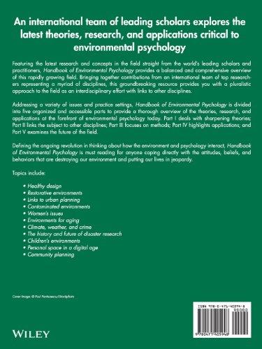 handbook of environmental psychology pdf