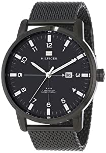 Tommy Hilfiger Men's 1710328 Casual Sport 3-Hand Stainless Steel Case and Mesh Bracelet Watch