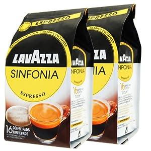 Get Lavazza Sinfonia Espresso Coffee pods for Senseo, Pack of 2, 2 x 16 Pods by Luigi Lavazza S.p.A.