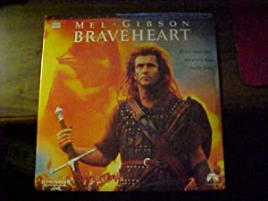 Amazon.com: Laserdisc Of BRAVEHEART with Mel Gibson ...