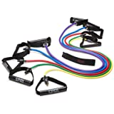SPRI Xertube Resistance Band Exercise Cords with Door Attachment (Sold Individually)