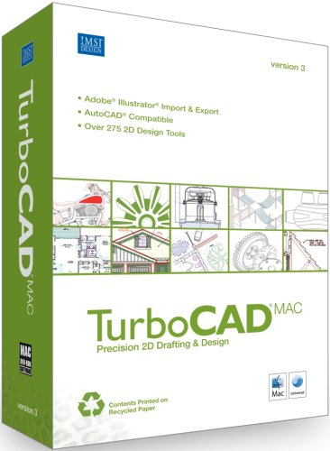 Turbocad Mac V3 2D Cad For Mac [Old Version]