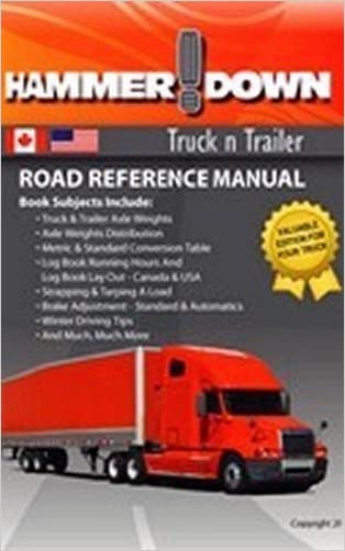 Hammer Down Truck n Trailer / Road Reference Manual written by Gary Ball