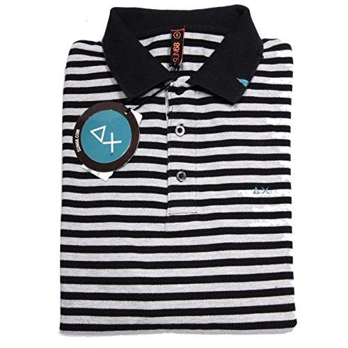 60014 polo SUN 68 maglia uomo t-shirt men BLU [S]